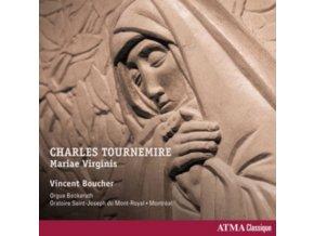 VINCENT BOUCHER - Tournemire Vol. 4 - Mariae Virginis (CD)