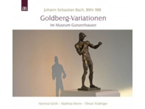 HARTMUT SCHILL / MATTHIAS WORM / TILMAN TRUDINGER - Bach: Goldberg-Variationen Im Museum Gunzenhauser (CD)