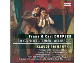 VARIOUS ARTISTS - Doppler Bros-Complete Flute Music-Vol 3 (CD)