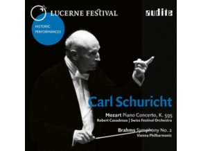 CARL SCHURICHT - Brahms / Mozart: Lucerne Festival Historic Performances Vol X1 (CD)