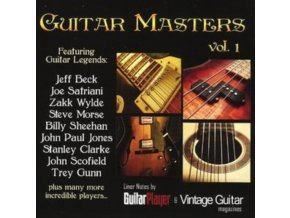 VARIOUS ARTISTS - Guitar Masters - Vol 1 (CD)