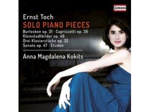 ANNA MAGDALENA KOKITS - Toch/Solo Piano Pieces (CD)