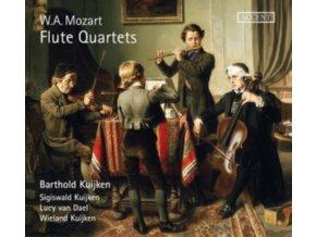 BARTHOLD KUIJKEN - Flute Quartets (CD)