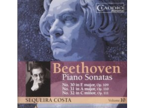 SEQUEIRA COSTA - Beethoven/Piano Sonatas - Vol 10 (CD)