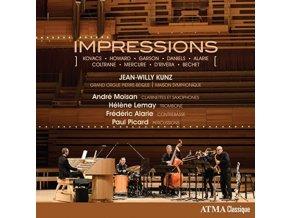 JEAN-WILLY KUNZ - Impressions (CD)