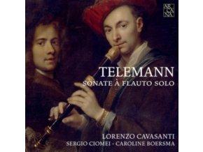 LORENZO CAVASANTI / SERGIO CIOMEI - Telemann: Sonate For Solo Flute (CD)