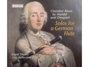 FRANK THEUNS - HANDEL - DIEUPART - Solo For The German Flute (CD)