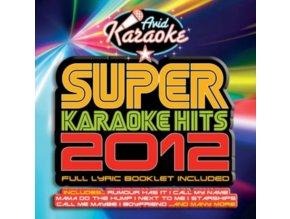 VARIOUS ARTISTS - Super Karaoke Hits 2012 (CD)