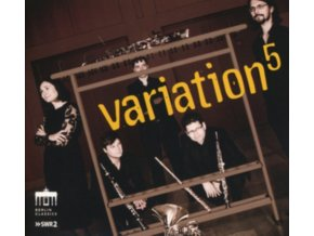 VARIATION5 - Wind Music By Arnold / Francaix / Hindemith / Nielsen (CD)