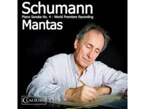 SANTIAGO MANTAS - Schumann / Piano Sonata No 4 (CD)