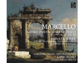 CAROLINE PELON / MELODIE RUVIO - Marcello: Estro Poetico-Armonico (CD)
