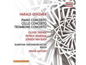 VARIOUS ARTISTS - Genzmer: Piano Concerto (CD)