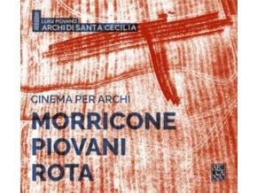 LUIGI PIOVANO / ARCHI DI SANTA CECILIA - Cinema Per Archi (CD)