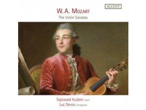SIGISWALD KUIJKEN / LUC DEVOS - Sonatas For Fortepiano And Violin (CD)