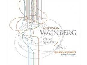 SILESIAN QUARTET - Mieczyslaw Weinberg: String Quartets Nos 8-10 (CD)