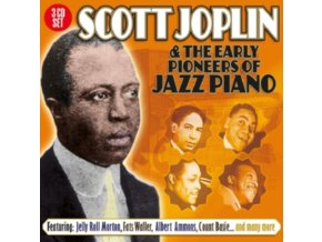 VARIOUS ARTISTS - Scott Joplin And The Early Pioneers Of Jazz Piano (CD)