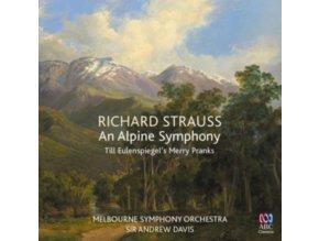 MELBOURNE SYMPHONY ORCHESTRA / SIR ANDREW DAVIS - Richard Strauss: An Alpine Symphony (CD)