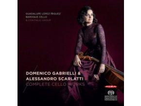 DOMENICO GABRIELLA / ALESSENDRO SCARLATTI - Complete Cello Works (CD)