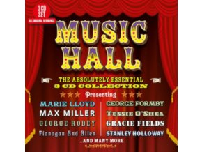 VARIOUS ARTISTS - Music Hall - The Absolutely Essential 3 Cd Collection (CD)
