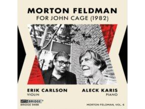 CARLSON / KARIS - Feldman / For John Cage (CD)