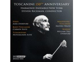 HARMONIE ENSEMBLE / RICHMAN - Toscanini 150Th Anniversary (CD)