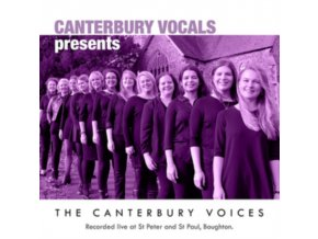 CANTERBURY VOCALS - The Canterbury Voices (CD)