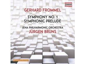 JENA PHILHARMONIC/BRUNS - Frommel/Symphony No 1 (CD)