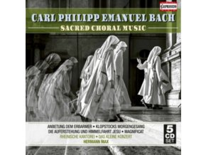 VARIOUS ARTISTS - Bach/Sacred Choral Music (CD)