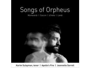 KARIM SULAYMAN / JEANNETTE SORRELL / APOLLOS FIRE - Songs Of Orpheus (CD)