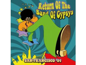 RETURN OF THE BAND OF GYPSYS - San Francisco 84 (CDR)