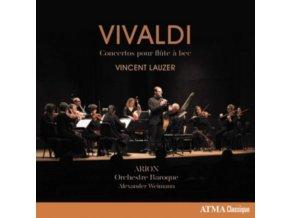 VINCENT LAUZER AND ALEXANDER WEIMANN - Vivaldi: Recorder Concertos (Flute A Bec) (CD)