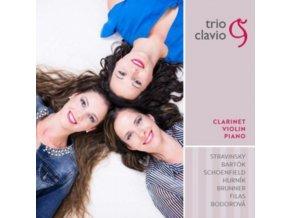 TRIO CLAVIO - Clarinet / Violin / Piano (CD)
