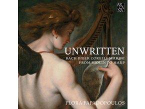 FLORA PAPADOPOULOS - Unwritten: From Violin To Harp - Bach / Biber / Corelli / Marini (CD)