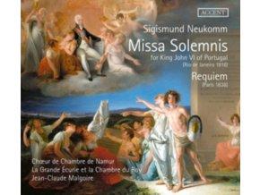 CHOUR DE CHAMBRE DE NAMUR / LA GRANDE ECURIE ET LA CHAMBRE DU ROY / JEAN-CLAUDE MALGOIRE - Missa Solemnis & Requiem (CD)