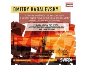 VARIOUS ARTISTS - Dmitry Kabalevsky: Violin Concerto (CD)