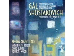 BRIGGS PIANO TRIO - Hans Gal: Piano Trio In E. Op. 18 / Variations On A Popular V (CD)
