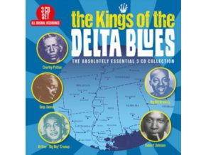 VARIOUS ARTISTS - The Kings Of The Delta Blues (CD)