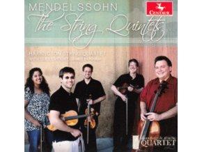 JAMES DUNHAM & HARRINGTON STRING QUARTET - Mendelssohn: The String Quintets (CD)
