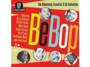VARIOUS ARTISTS - Bebop - The Absolutely Essential 3 Cd Collection (CD)