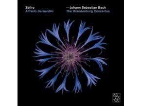ZEFIRO / ALFREDO BERNARDINI - J.S. Bach: The Brandeburg Concertos (CD)