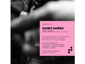 JEAN-FRANCOIS LAPOINTE / BERNARD RICHTER / CHOUR ET ORCHESTRE / DE LA HAUTE ECOLE DE MUSIQUE DE GENEVE / CHOUR DU GRAND THEATRE DE GENEVE / GUILLAUME TOURNIAIRE - Saint-Saens: Ascanio (CD)
