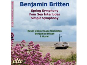 ROYAL OPERA HOUSE ORCH / BRITTEN & I MUSICI / AYO - Britten: Spring Symphony / 4 Sea Interludes / Spring Symphony (CD)