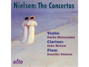 SAEKA MATSUYAMA / J. MCCAW / J.STINTON - Nielsen: Complete Concertos: Violin / Clarinet / Flute (CD)