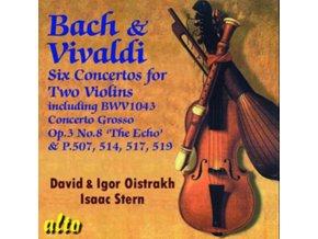 IGOR & DAVID OISTRAKH. ISAAC STERN - J S Bach & Vivaldi: Double Violin Concertos (CD)