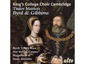 KINGS COLLEGE CHOIR. CAMBRIDGE / WILLCOCKS - Tudor Masters: Byrd & Gibbons (CD)
