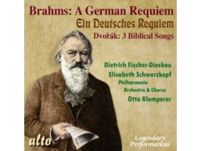 FISCHER-DIESKAU / KLEMPERER / FISCHER-DIESKAU / DEMUS - Brahms Deutsches Requiem / Dvorak Biblical Songs (Sel) (CD)