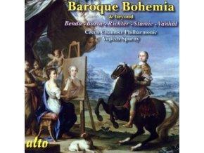 CZECH CHAMBER PHILHARMONIC - Baroque Bohemia: Richter. Vanhal Etc (CD)