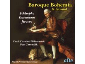 CZECH CHAMBER PHILHARMONIC / CHROMCAK - Baroque Bohemia: Schimpke / Gassmann / Jirovec (Sinfonias) (CD)