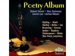 DONAT. GUINNESS. MASON. LEE ETC - The Poetry Album (32 Poems Including War Poets Selection At End) (CD)