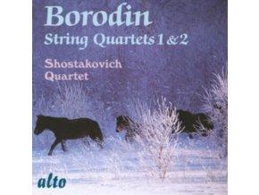 SHOSTAKOVICH QUARTET - Borodin: String Quartets 1 & 2 (CD)